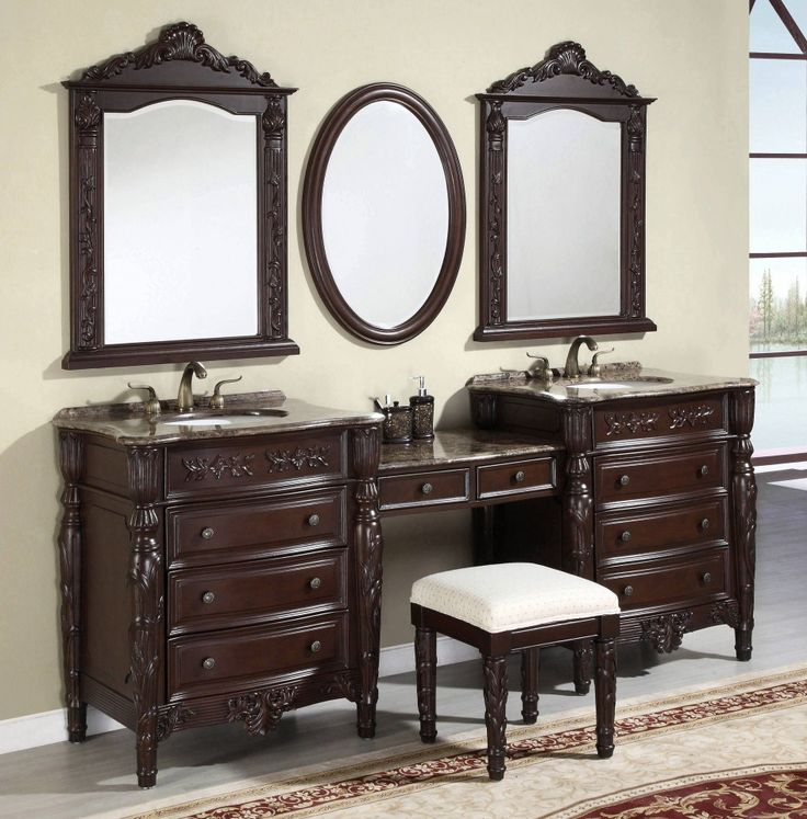Best Bathroom Mirrors Images On Pinterest - Bathroom mirror 48 inch wide for bathroom decor ideas