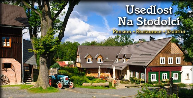 Pension, cheap accommodation, trips with children, a farmhouse Stodolci