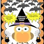 Hello Teachers, This Halloween Learning Packet has the following: 1. 20 math task cards   addition, subtraction, multiplication, division, money wi...