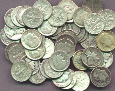 Real #Silver Dimes have #Real #Value.