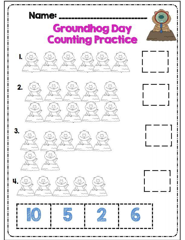 Best 20 Kindergarten Groundhog Day Ideas On Pinterest