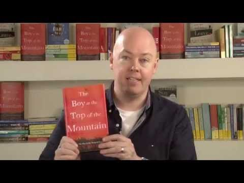 John Boyne introduces The Boy at the Top of the Mountain - YouTube