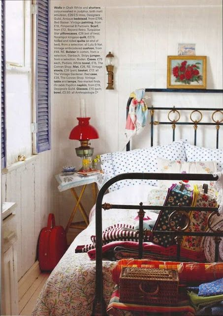 Bohemian Vintage. hang shutters inside and use as picture holders