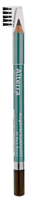 Alterra cosmetici decorativi - matita di sopracciglio 03 Marrone   rossmann.de