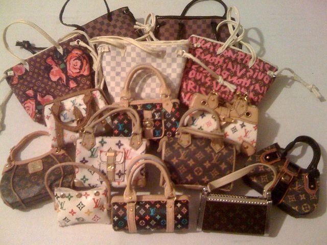 Louis Vuitton Purses Handbags Purses Barbie Shoes