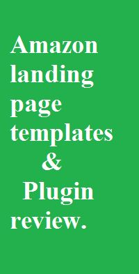 amazon landing page generator wordpress plugin & templates review. http://topseomarketingplan.com/best-landing-page-creator-building-a-landing-page-make-a-website/