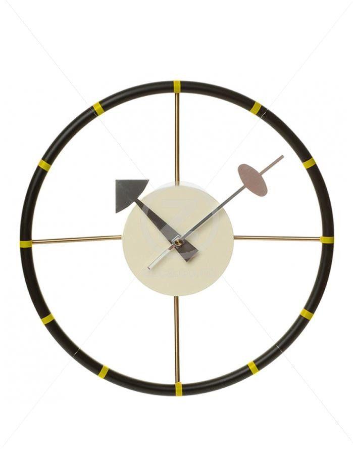 Replica George Nelson Steering Wall Clock | ZUCA | Homeware, Chairs, Replica…