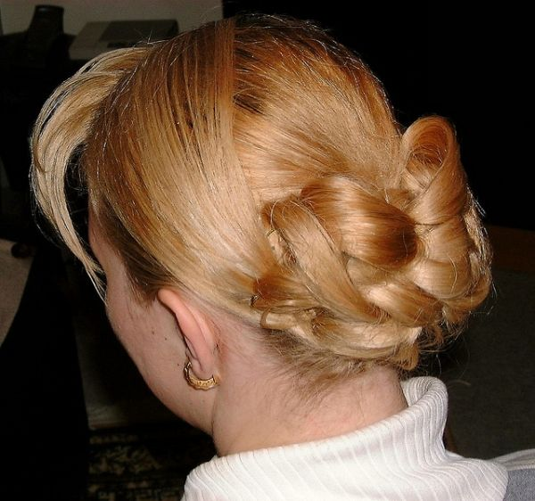 Formal Medium Hair Bun