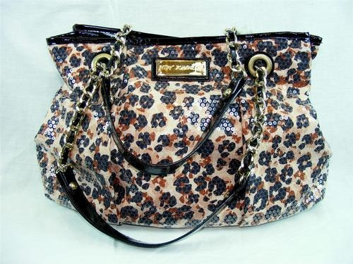 b77bffbb52fc Discover ideas about Betsey Johnson Purses. Betsey Johnson Large Leopard ...