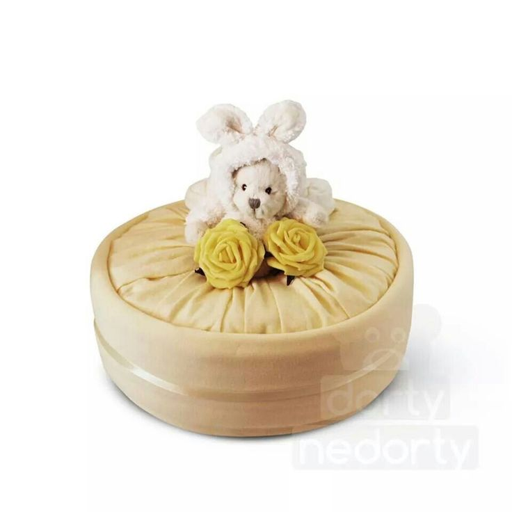 yellow version (nappy cake)