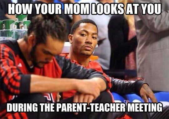 Wait until we get home… Chicago Bull's Very Own Derrick Rose and Joakim Noah