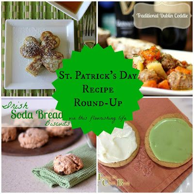St. Patrick's Day Recipe Round-Up (no artificial food dyes) http://www.thisflourishinglife.com/2013/02/st-patricks-day-recipe-round-up.html