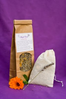 Herbal after birth bath for mama and baby!