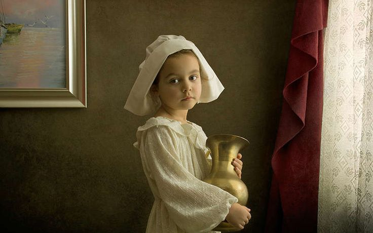 Famous paintings recreated with photography