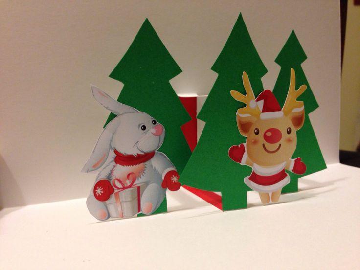 Christmas card handmade #DIY