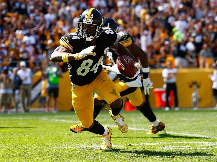 #02 WR Antonio Brown, Pittsburgh Steelers