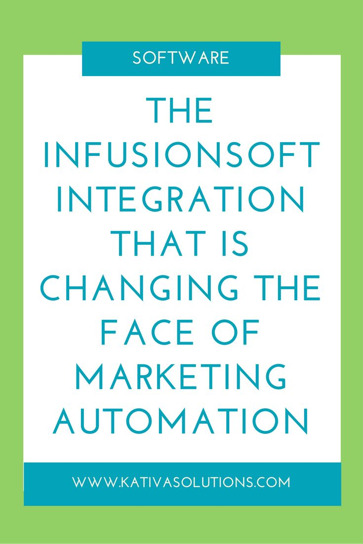 Have you heard of PlusThis? It's a game changing Infusionsoft integration. It's about to change the face of marketing automation!