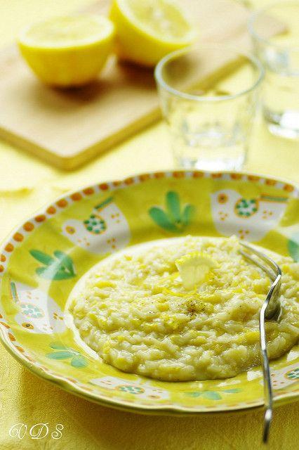 Sublime risotto 100% citron inspiré de Gennaro Esposito et quelques astuces pour réussir son risotto (risotto 100% limone)