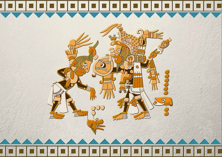 Echa un vistazo a mi proyecto @Behance: \u201cArte Azteca\u201d https://www.behance.net/gallery/50785775/Arte-Azteca