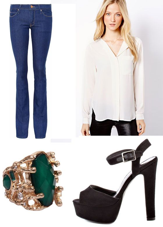Lana del Rey inspired outfit