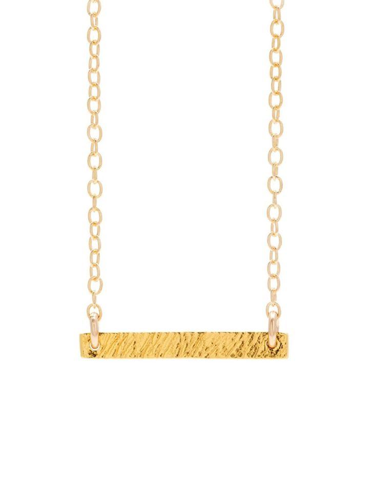 Mini Bar Necklace $60