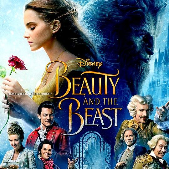 Emma Watson on new poster of Disney's 'Beauty and the Beast'