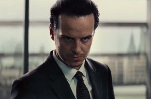 And a fierce looking Andrew Scott!