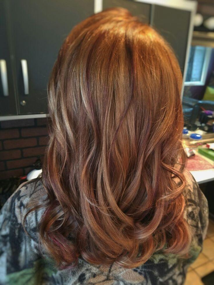 mahogany red hair ideas