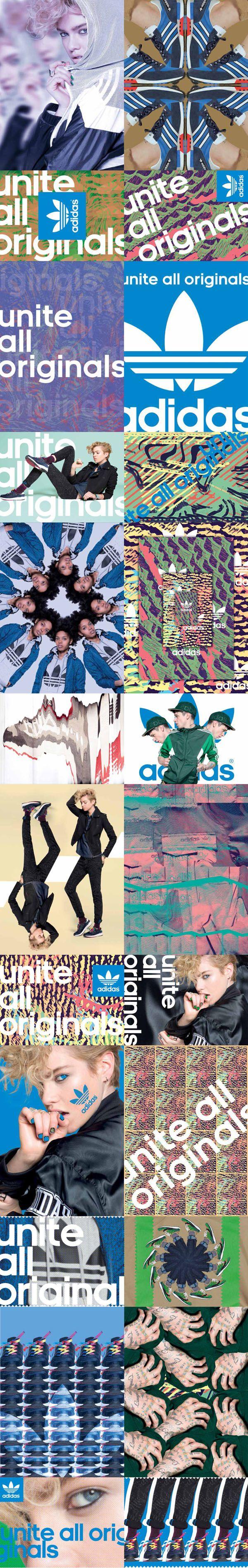 Fachada adidas Originals on Behance