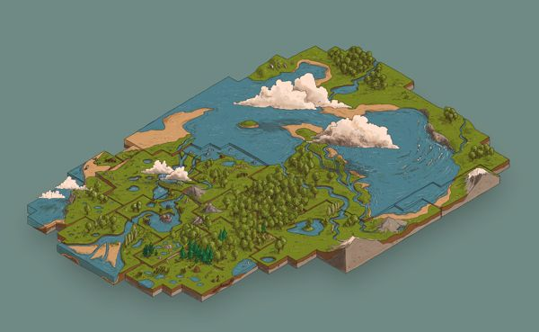 Worlds Ecosystem Services on Behance