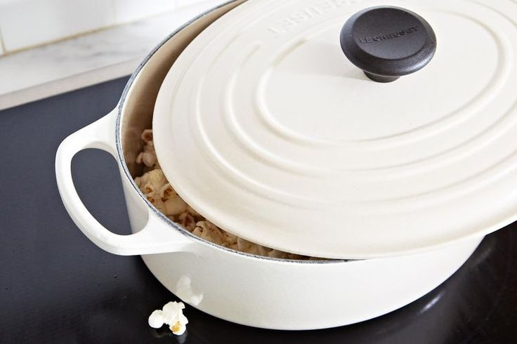 The best stove-top popcorn recipe! You must count to 30 out loud... very scientific!