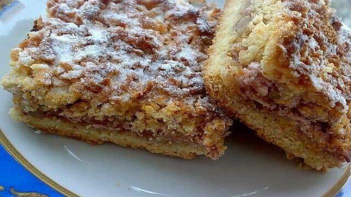 Výtečný drobenkový koláč s luxusní chutí plněný džemem! | Milujeme recepty
