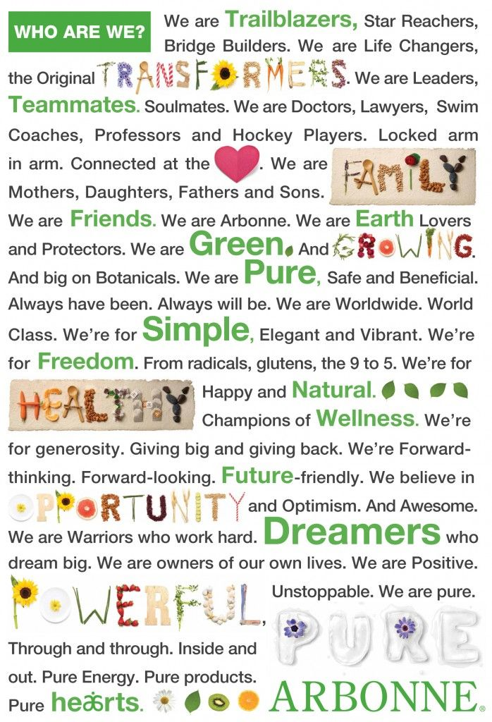 Who are we? We are Arbonne! #manifesto #wordstoliveby #quote: Arbonne Business, Independence Consultant, Pure Safe, Arbonne Manifesto, Arbonne Opportunities, Arbonne Ideas, Arbonne Independence, Arbonne Consultant, Arbonne Products