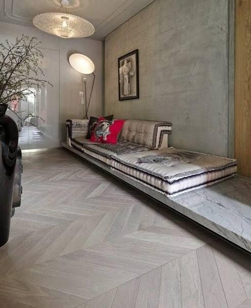 Laminate Flooring Bedroom: Herringbone Laminate Flooring