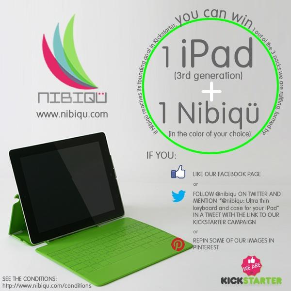 Kickstarter: http://www.kickstarter.com/projects/nibiqu/nibiqu-the-thinnest-keyboard-for-your-ipad    Twitter: https://twitter.com/nibiqu    Facebook: http://www.facebook.com/pages/Nibiq%C3%BC/326889340745802