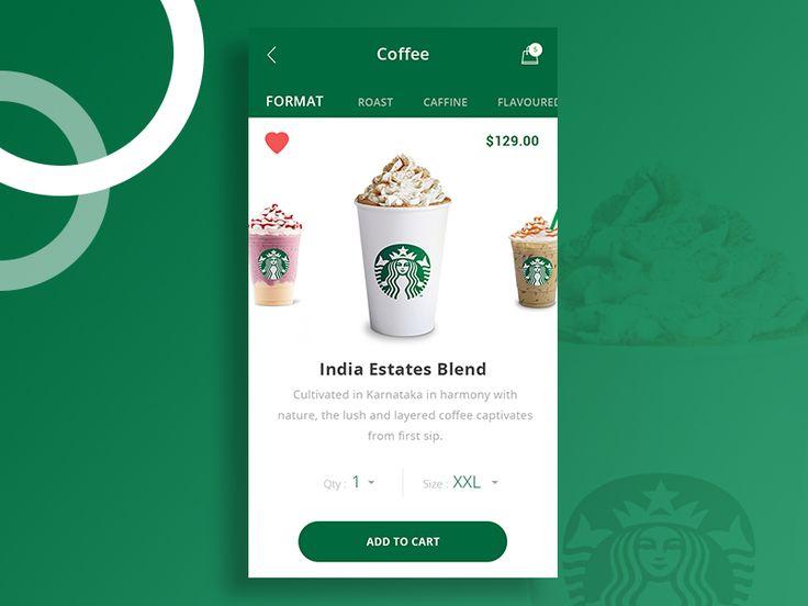 Starbucks Coffee  Ui Practice