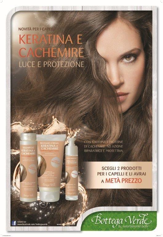 Cheratina e Cashemire - nuova linea capelli 2013