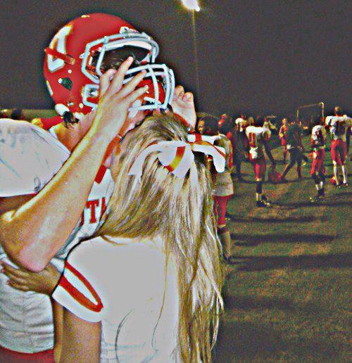 Athletic couple...