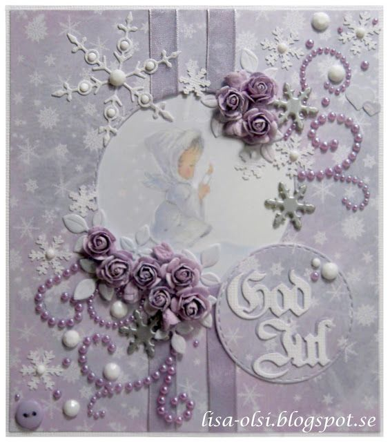 christmas card scrapbooking  https://lisa-olsi.blogspot.se/