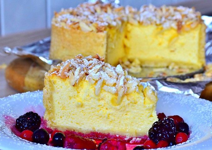 Cheesecake-sufleu din 3 ingrediente | Retete culinare - Romanesti si din Bucataria internationala