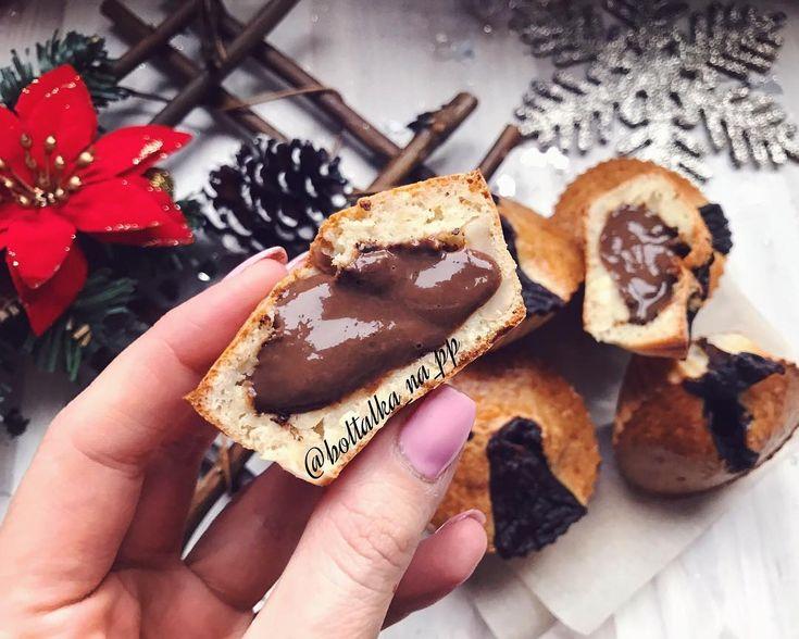 Кексы из овсяных отрубей с шоколадом