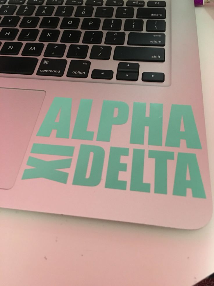 Alpha Xi Delta Block Decal by Greektastic on Etsy https://www.etsy.com/listing/289889463/alpha-xi-delta-block-decal