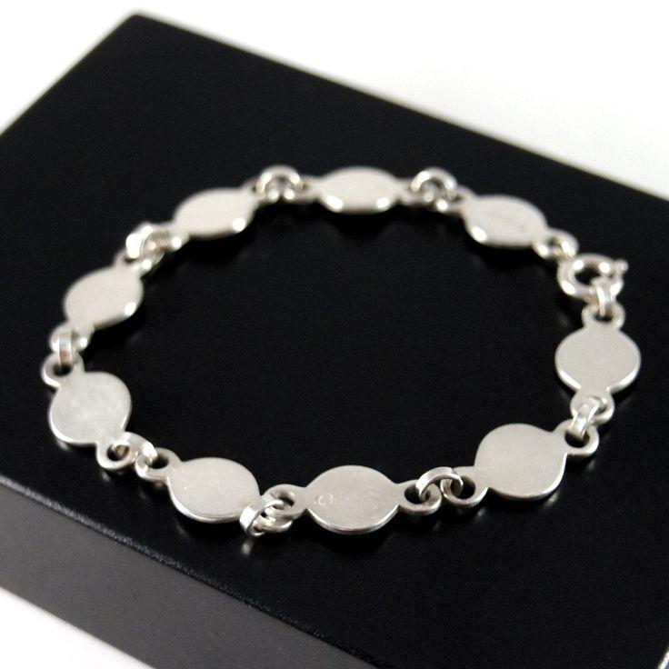 David Andersen Circular Link Bracelet - Minimalist