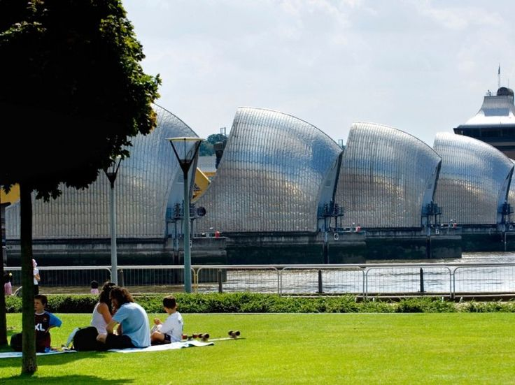 The Best Picnic Spots in Cities Around the World: Photo: Thames Barrier Park, London, UK