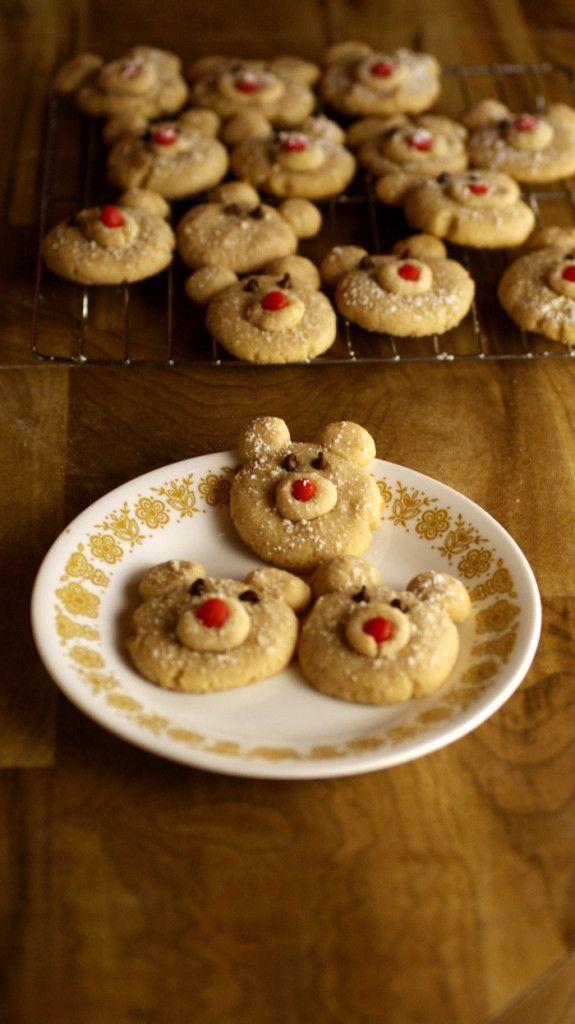 Cinnamon Polar Bear Cookies Recipe - Baking Beauty