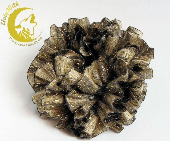 Ozdoby - złoto-brązowa w zlotywilk na DaWanda.com