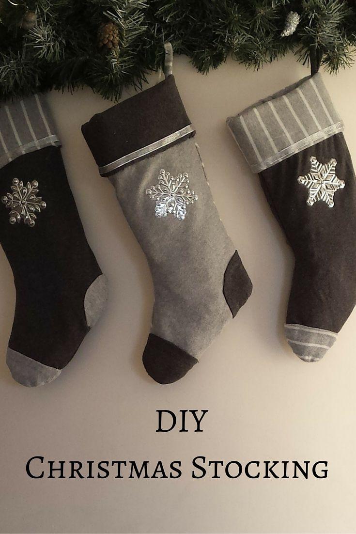To były kiedyś dwa t-shirty a teraz są trzy skarpety  #handmade #christmasdecoration #stockings