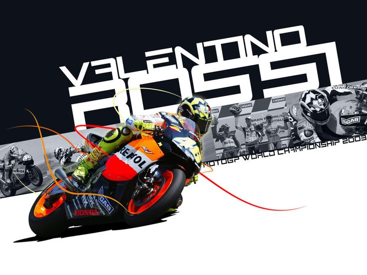 Valentino Rossi - MotoGP 2003 by EvanDeCiren.deviantart.com on @DeviantArt