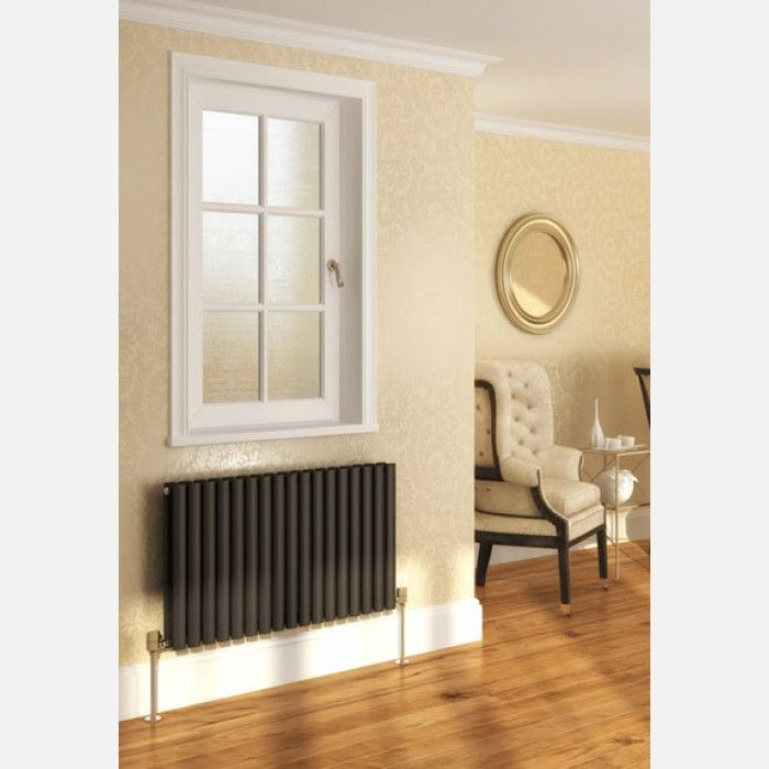 Oval horizontal Radiator - Horizontal Radiators - Designer Radiators
