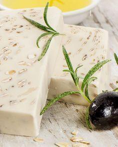 Seife herstellen - Seifen-Rezept: Seife mit Haferflocken und Olivenöl